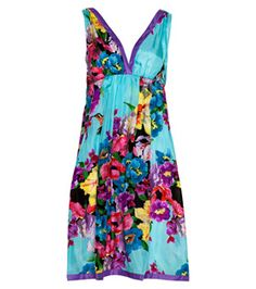 Peter Alexander - Women - Slinky Nighties and Sleep Tees - Silk Humming Bird Nightie