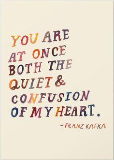 "Do livro ""Letters to Felice"" - Franz Kafka"