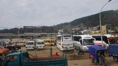 Bus station in Kigali