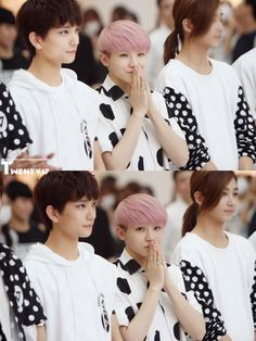 - Joshua, Woozi, Jeonghan... Woozi is so short! :3