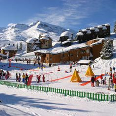 Top family ski resorts in France