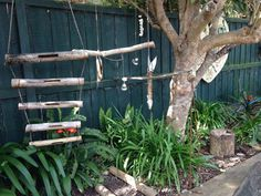 """Lovely little outdoor 'sound' area - from Australian Early Childhood Education Network ("""",)"""