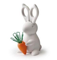 easter, bunny, rabbit, paperclips, paper clips, Scissors, desktop, office supplies, office, work, work supplies, desktop supplies, #home #homeoffice #office #accessories #officeaccessories #stationary #yourhomemagazine #work