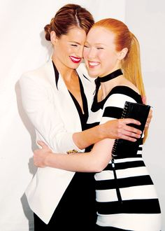 Stana Katic and Molly Quinn