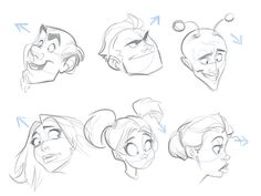 Cartoon Fundamentals: How to Draw a Cartoon Face Correctly