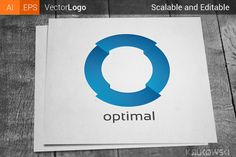 Letter O Company Logo by Krukowski Graphics on @creativemarket