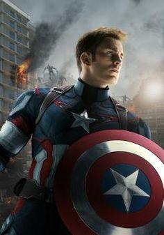 Imagen promocional de Los Vengadores: La Era de Ultrón (2015), Capitán América