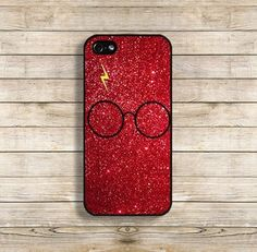 Harry Potter Glitter Print Phone Case //Price: $9.00 & FREE Shipping…