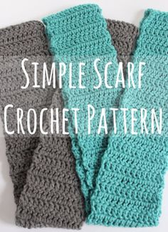 35 Easy Crochet Patterns - Simple Scarf Crochet Pattern - Crochet Patterns For Beginners, Quick And Easy Crochet Patterns, Crochet Ideas To Try, Crochet Ideas To Make And Sell, Easy Crochet Ideas http://diyjoy.com/easy-crochet-patterns