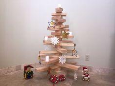 Como fazer uma árvore de Natal de madeira | eHow Brasil