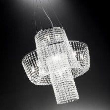 Classy glass chandelier Etoile