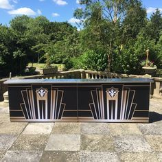 4 metre Gatsby Bar by Ace Bar Events Gatsby, Garage Doors, Art Deco, Events, Bar, Outdoor Decor, Inspiration, Home Decor, Biblical Inspiration