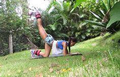 Oi meninas!!! Tenho recebido muitas mensagens no blog sobre exercícios para aumentar e definir as pernas e os glúteos. Por isso, graveium vídeo para demonstrar os meus exercícios favoritos para aumentar e definir o bumbum. Estes exercícios eu faço no mesmo dia do meu treino de posterior de coxa, ou seja, este não é o …