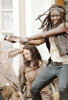 "✖ Michonne -The Walking Dead 6.03 ""Thank You"""