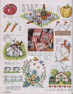 Cross-stitch On the Farm charts, part 2... Gallery.ru / Фото #9 - SUSANNA SOLOALBUM 2002-11 + Архив - Mosca