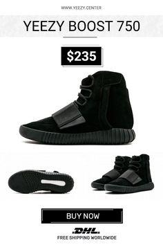 Buy the best Adidas Yeezy Boost 750 Triple Black unauthorized shoes 1ebadbda9