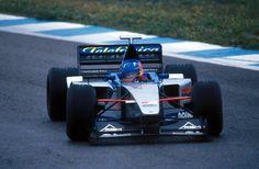 Fernando Alonso (Minardi-Ford V10, M01). 1st F1 Test. Jerez, 13th December, 1999