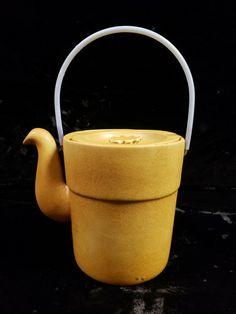 Bennington Potters 1773 Teapot Tawny Mustard mid-century vintage | eBay