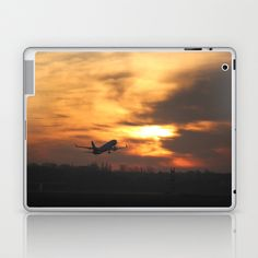 Up Up in the Fire Laptop & iPad Skin by Angelika Kimmig - $25.00