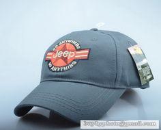 4fb32a1b953 Jeep OutDoor Baseball Cap Sun hat sports caps Male summer visor cap Gray