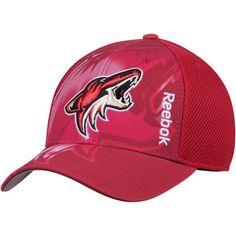 33aa4c669c2 Men s Reebok Maroon Arizona Coyotes Center Ice Second Season Adjustable Hat