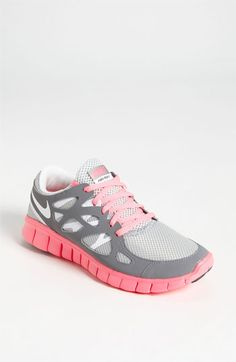 These are Nike free run shoes.