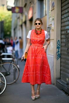 Street fashion: Milan Fashion Week