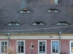 Eye Houses  Eyes of Sibiu