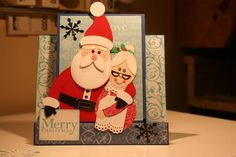 Christmas Funky Fold Card