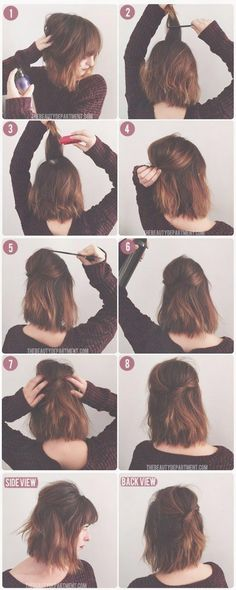 69 besten frisuren glatte Haare mittellang Bilder auf Pinterest …