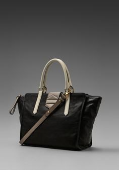 Marc by Marc Jacobs Flipping Out Tote in Black Multi
