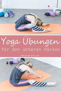 Yoga for back pain is not difficult to perform. The gentle stretching … - Fitness Workout Yoga Fitness, Fitness Workouts, Ab Workouts, Pilates Workout, Yoga Pilates, Pilates Reformer, Ashtanga Yoga, Yoga Routine, Esprit Yoga