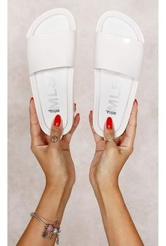 Melissa Beach Slide B Branco Fashion Closet - fashioncloset-mobile