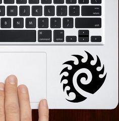 Zerg starcraft icon Macbook Pro / Air 13 Trackpad Keyboard Decal