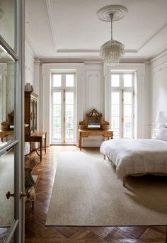 Home Interior Inspiration .Home Interior Inspiration Home Bedroom, Master Bedroom, Bedroom Ideas, Modern Bedroom, Bedroom Wall, Bedroom Lamps, Wall Lamps, Serene Bedroom, Minimal Bedroom