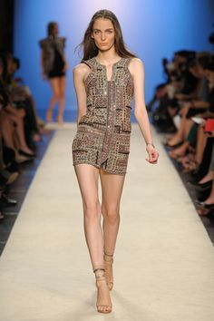 Cool and Sporty Collections from Isabel Marant for Spring 2012: Isabel Marant in glamour mini dress