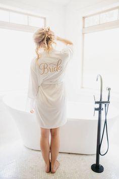Bridesmaid Robes - Bridesmaid Gift Ideas #ad -Satin & Lace Robe - Bridal Robe - Bridesmaid Robes…