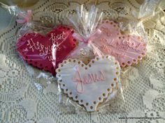 Valentines Day Cookies | Kyrsten's Sweet Designs - Specialty Cakes and Cookie Favors