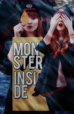 Monster Inside - Wattpad Cover by DeviantSmiler