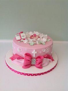 Baby Christening - by Keeley Cakes @ CakesDecor.com - cake decorating website