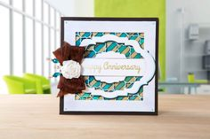 Make gorgeous #carddesigns just like this with the multi-functional crafting machine TODO. Shop now: http://www.createandcraft.tv/todo  #CraftwithTODO