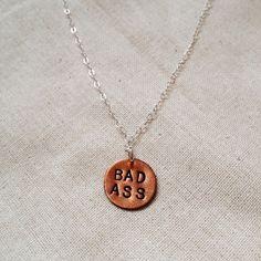 """Spotted while shopping on Poshmark: """"Badass Necklace""""! #poshmark #fashion #shopping #style #Jewelry"""