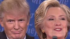 """Did Trump mouth the word """"seizure"""" during the debate?"""