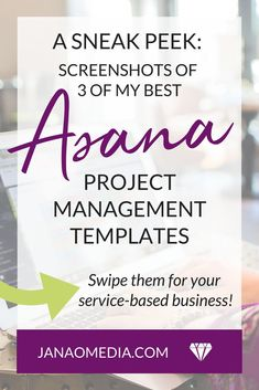 Using Asana to organize everything in your online service-based business Online Entrepreneur, Business Entrepreneur, Entrepreneur Ideas, Business Advice, Online Business, Business Meme, Business Goals, Business Quotes, Project Management Templates