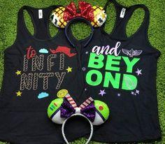 Toy Story To Infinity And Beyond Buzz Lightyear Disney Shirts Disney Couple Shirt Disney Family Shirts Toy Story T Shirt Plus Size - Fandom Shirts - Ideas of Fandom Shirts -