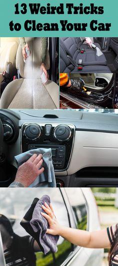 20 Most Brilliant Car Cleaning Tips And Hacks 13 Weird Tricks to Clean Your Car Car Cleaning Hacks, Car Hacks, Cleaning Car Windows, Clean Car Seats, Car Care Tips, Car Fix, Clean Your Car, Popular Mechanics, Diy Car