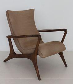 Vladimir Kagan ClassicsContour High Back Lounge Chair