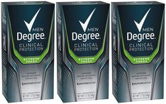 Degree Men Clinical+ Antiperspirant & Deodorant, Extreme Fresh oz (Pack of Deodorant Best, Excessive Sweating, Amazon Beauty Products, Beauty Shop, Active Ingredient, Clinic, Moisturizer, Packing, Fresh
