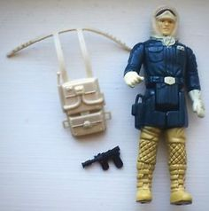1980 ORIGINAL KENNER Accessoire Empire Strikes Back 1 Vintage Star Wars Hoth Stormtrooper Rifle