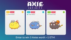 Triple Axie Giveaway!